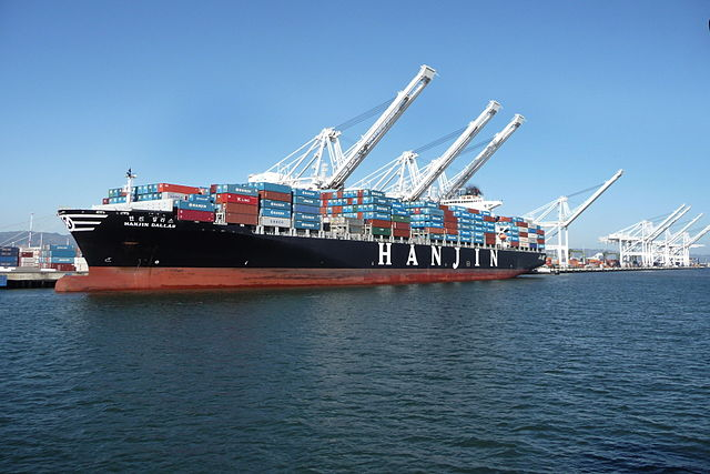 Container Ship - Author Ingrid Taylar