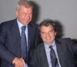 Carlo Sangalli e Renato Brunetta