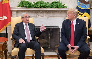 UE-USA © European Union, 2018/Photo: Etienne Ansotte