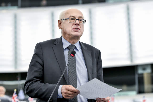 Zdzisław Krasnodębski - photo credit: Marc Dossmann © European Union 2018 - Source: EP