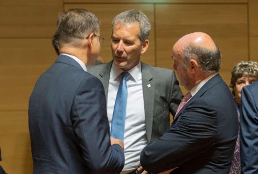 Hartwig Löger - Ecofin Council - photo credit: European Union