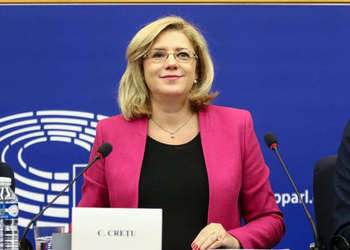 Corina Cretu - © European Union, 2017/Source: EC - Audiovisual Service/Photo: Elyxandro Cegarra