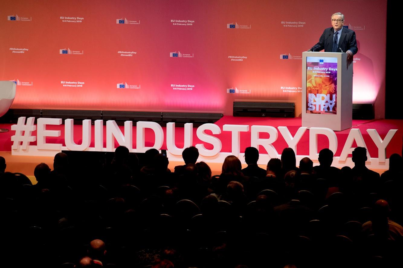 EU Industry Days - Photo credit: © European Union, 2019 / Source: EC - Audiovisual Service / Photo: Etienne Ansotte