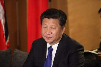 Xi Jinping - Photo credit Foreign and Commonwealth Office