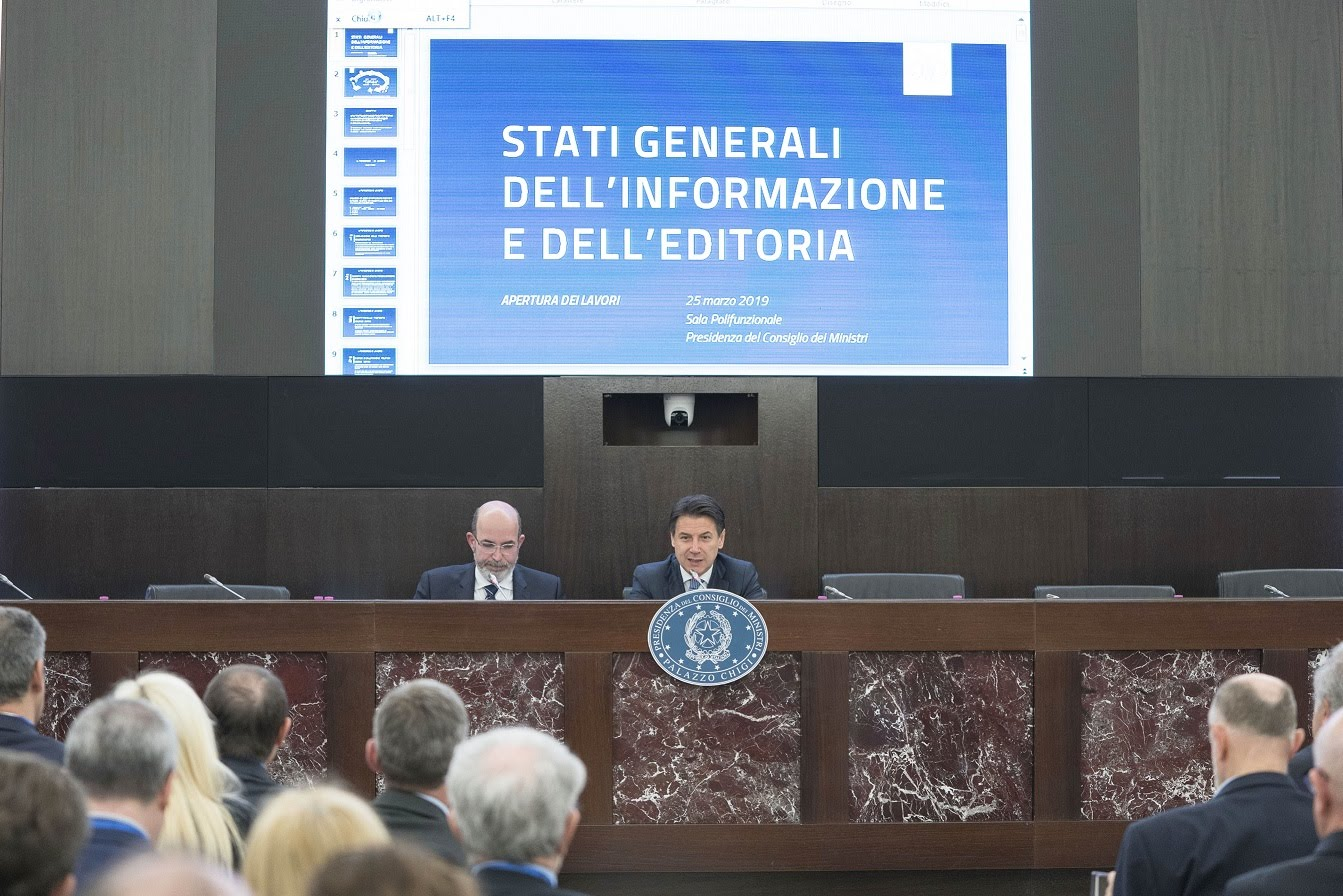 Stati generali editoria - Photo credit: Palazzo Chigi