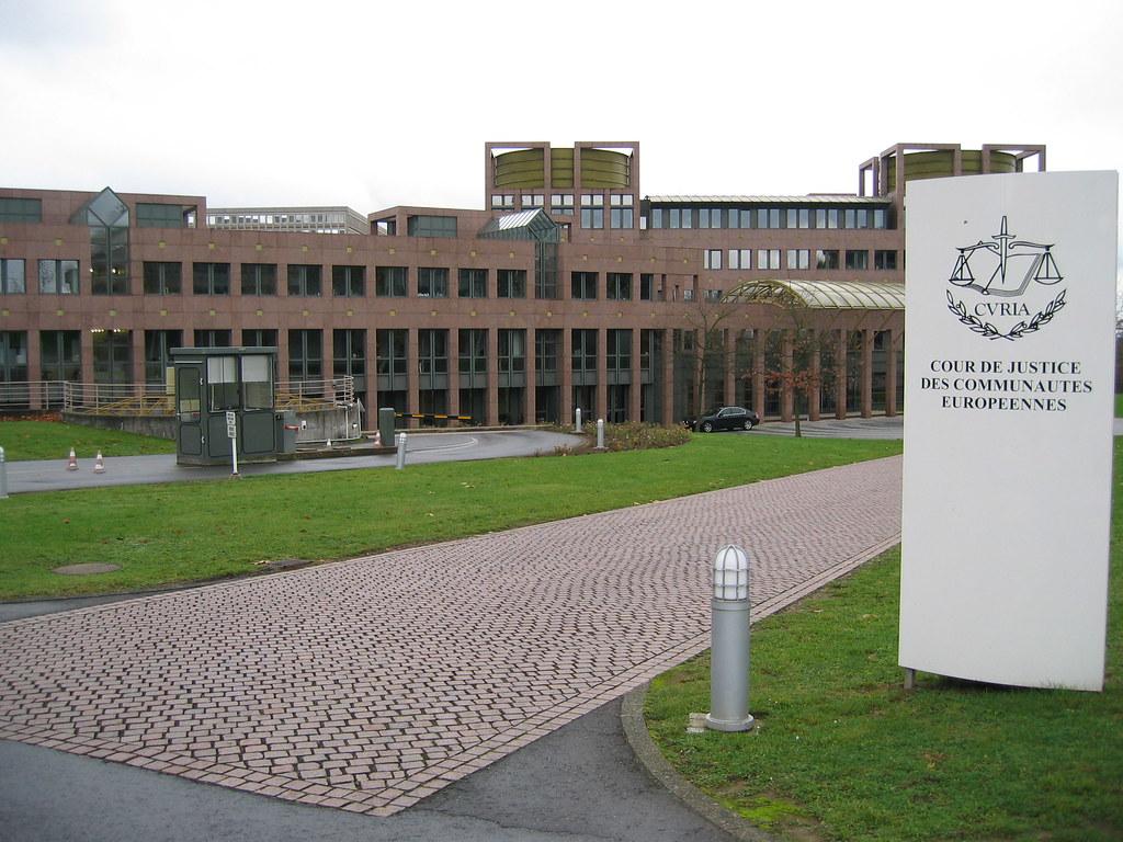 European Court of Justice - photo credit: Cédric