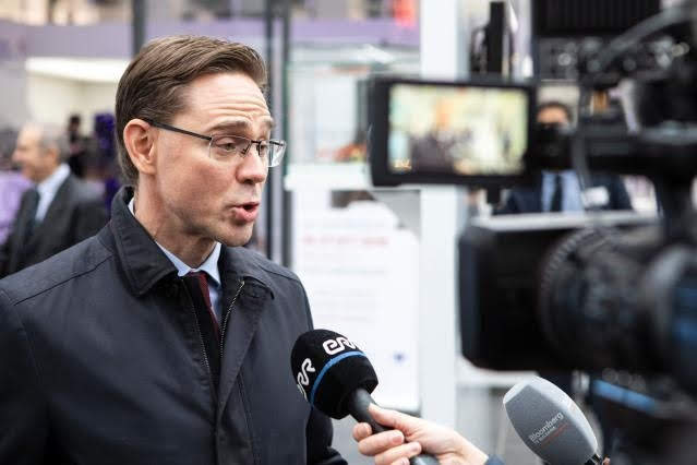 Katainen - Photo credit: EC - Audiovisual Service Photographer: Lukasz Kobus
