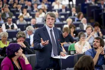 David Sassoli - Fred Marvaux Photo credit © European Union 2019 – Source: EP
