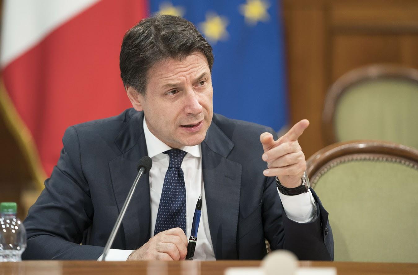 Giuseppe Conte - Photo credit: Governo