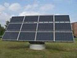 Pannello fotovoltaico - Foto di Chmee2