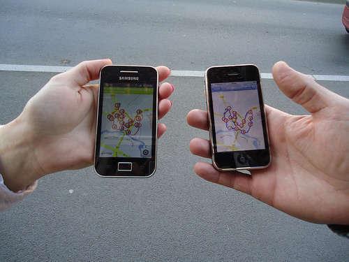 Smartphone - foto di Pays de Montfort en Brocéliande